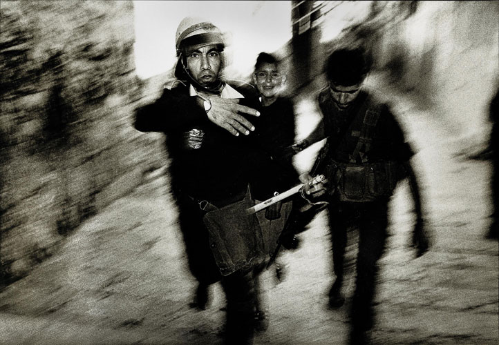 How Did it Come to This? : Arrest of crying boy : Jerusalem