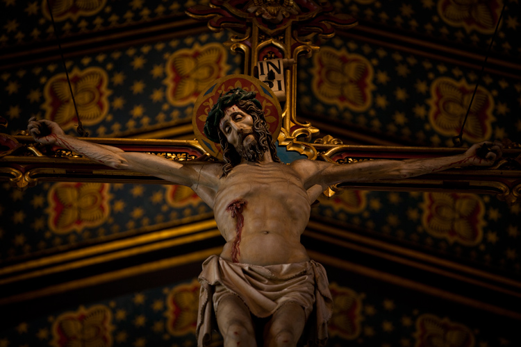 Jesus of Birmingham : St. Chads Cathedral : UK