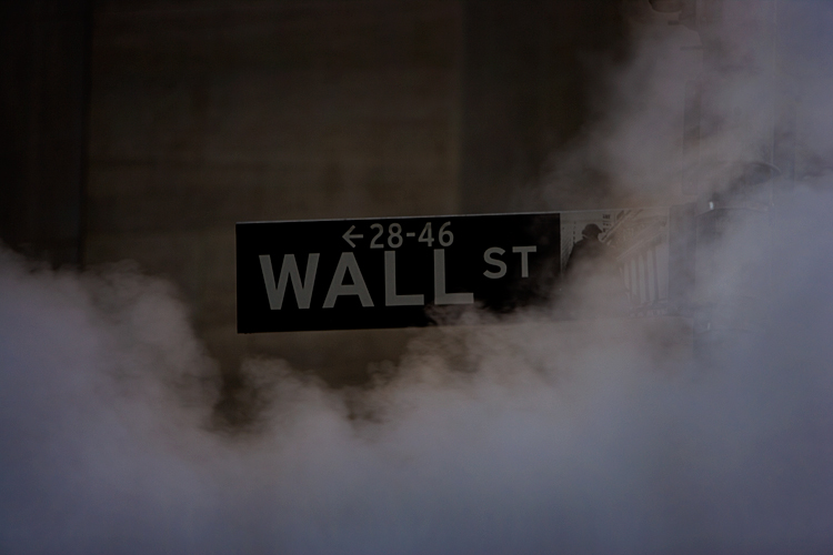 Five Year Anniversary of the collapse of Lehman Brothers : NYC : USA