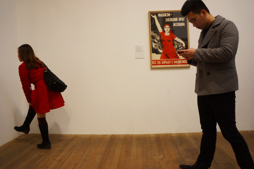 Women in Red : Tate Modern : London
