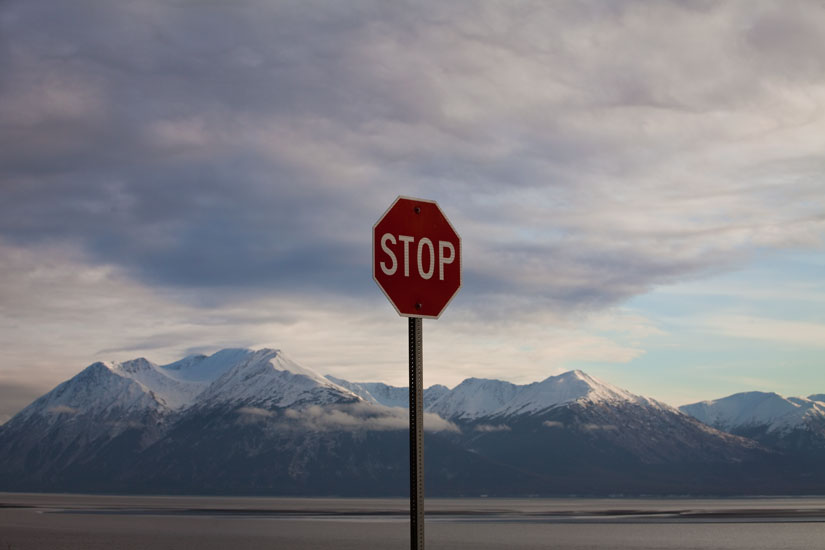Stop Alaska : Seward Highway : Alaska USA