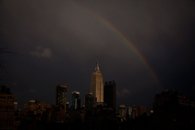Empire State Rainbow : New York City : USA