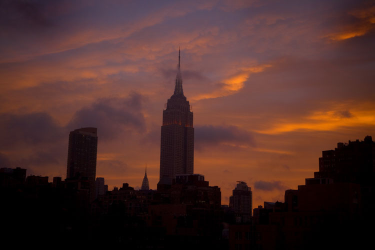 Empire State Dawn : Manhattan : NYC