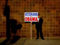 Veteran for Obama : St Peters College : Jersey City NJ