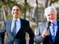 Ted Kennedy Endorses Barack Obama : American University : DC