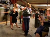 Subway girls NYC - And don't forget the guess & win for a Holga