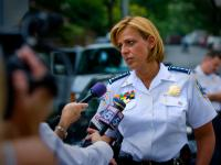 DC Shootings Arrest - Police Chief Cathy Lanier : Hawaii Avenue NW : DC