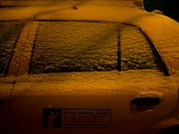 Hibernating Taxi : 24th St and 9th Av : NYC