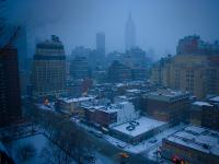 Empire State Snow : Midtown : NYC