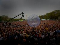 Flaming Lips Hamster Bubble to a Better World : The Mall Earth Day Celebration : Washington DC