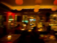 Dream of the City - Floating in a Bar- With Taxis : 9th Av & 14th : NYC