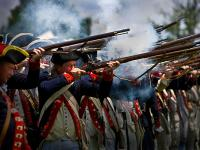 Revolutionary War Reenactment : Mount Vernon : Independence Day VA