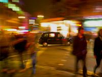 Brits Like a Drink - London Cab Friday Night : Shaftesbury Avenue : London