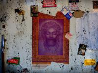 Jesus of Nebraska : Fire Damaged Apartment : Lincoln NE USA
