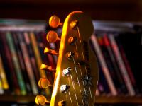 Melvyn's Guitar in the Light : Warwickshire : UK
