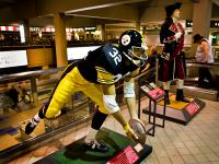 Immaculate Reception , Pittsburgh Airport , PA