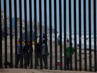 Staring and Urinating into America : Mexico/USA Border : Tijuana / California