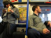 Earbud Boyz : Piccadilly Line to Heathrow : London