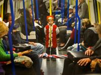 Future King on Tube Shock : Picadilly line : London Tube