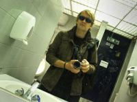 Jez Coulson Self portrait Bathroom : London College of Communication : Elephant and Castle London UK