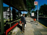 The Bus Stop of Death: Murder scene of Stephen Lawrence : South East London