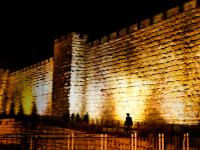 Old City Wall : Jerusalem : Israel