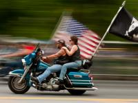 Is that Palin On the Back : Rolling Thunder : DC