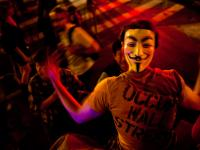 Guy Fawkes Mask #2 : Occupy Wall St Protest : New York City