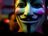 Guy Fawkes Mask #3 : Occupy Wall St Protesters in Times Sq : New York City