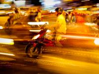 River of Motorbikes : Saigon : Vietnam