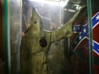 Confederate Battle Flag and the Klansman : Kennesaw : Georgia