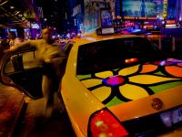 Flower Taxi #4 : Port Authority Bus Station 42nd & 8th Av : NYC