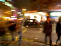 Friday Night is Alright for Fighting : Shaftesbury Ave : London