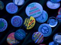 Button Badge Politics : National Mall : DC