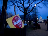 Iraq Surge for the Trash : National Mall : DC