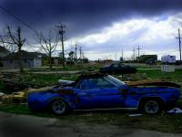 Blue Car : Slidel Louisianna