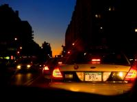 Sunset Taxis on 23rd St : 23rd and 9th : NYC