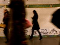The Wages of sin is death - but the overtime is good : Times Sq Subway link to Penn : NYC