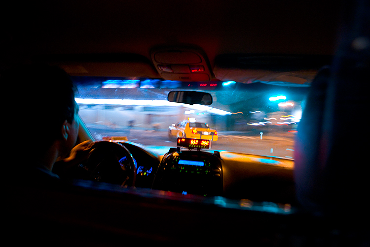 Mini Van Taxi - Out of the Blue : Manhattan : NYC