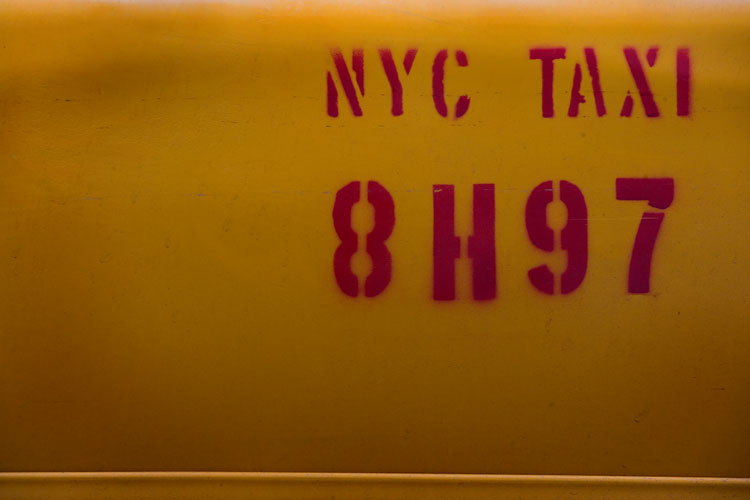 Dirty Door Taxi : 23rd St and 9th Av : NYC