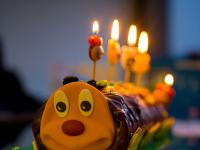 Harvs Photoblog is One Today :-))) : Caterpillar Cake : London
