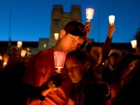 Candlelight Vigil : Virginia Tech : Blacksburg Virginia
